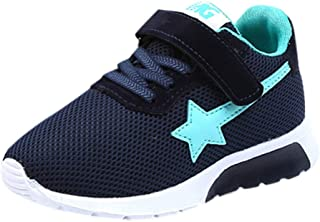 Children Kids Sneaker Baby Boys Girls Star Mesh Breathable Athletic Running Tennis Shoes Sport Casual Shoes