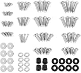 VIVO M4 M5 M6 M8 Universal TV and Monitor Mounting VESA Hardware Kit Set, Includes Screws, Washers, Spacers, Assortment Pack, Fits Most Screens up to 80 inches, Mount-TVWARE