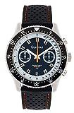 Gigandet G7-001 - Reloj para Hombres, Correa de Silicona Color Negro