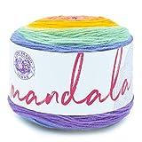 Lion Brand Yarn Company Mandala Baby Yarn, acrílico, Sprite, 13,97 x 13,97 x 10,16...