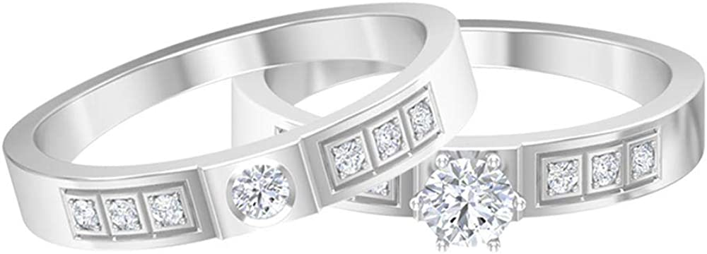 Rosec Jewels – Couples Wedding Bands CT Solitaire A surprise price is realized 1 H Minneapolis Mall Ring with