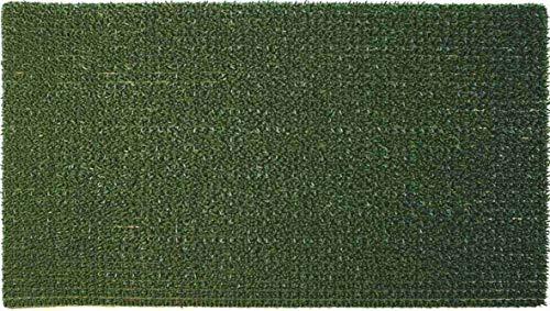 Velcoc groene deurmat Turf 70 x 40 cm, meerkleurig, één maat