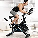L NOW Indoor Cycling Bike Stationary Bike Exercise Bike Belt...