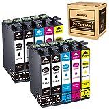 Hehua 29XL Compatible Cartouches d'encre pour Epson 29 29XL Remplacement pour Epson...
