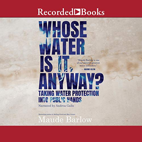 Whose Water Is It, Anyway? cover art