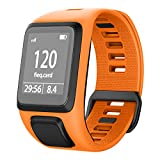 NotoCtiy Bracelet Tomtom Adventurer Montre,Bracelet De Rechange en Silicone pour Tomtom Runner 2 / Runner 3 / Spark 3 / Aventurier/Golfeur 9 Sports GPS Running