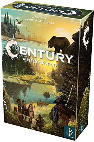 Century A New World Board Game | Strategy Board Game | Exploration Game | Family Board Game for Adults and Kids | Ages 8 and up | 2 to 4 Players | Average Playtime 30-45 Minutes | Made by Plan B Games