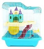 BPS Hamster Cage Hamster Chalet avec échelle de Tunnel et de Haute qualité Couleur Maison...