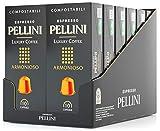 Pellini Caffè - Espresso Pellini Luxury Coffee Armonioso - 120 Cápsulas (12 x 10) - Compatible Con Máquina Nespresso