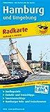 Hamburg und Umgebung: Radkarte mit Ausflugszielen, Einkehr- & Freizeittipps, wetterfest, reissfest, abwischbar, GPS-genau. 1:100000 (Radkarte / RK)