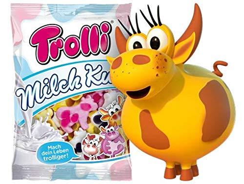 Trolli Milch Kuh milchige Kühe - 2 x 200g Beutel