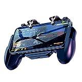 XYXZ Controlador De Gamepad Joysticks Controlador Móvil Joystick De Disparo Gamepad Gatillo Para Juegos Mango Para Teléfono Móvil Apuntar Gatillo Cuchillos Fuera Reglas De Supervivencia Cont
