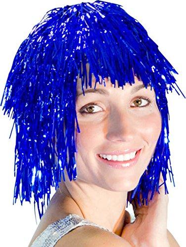 Palais De La Fête - Perruque Disco, Perruque Metal - Couleur : Bleu