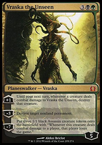 Magic: the Gathering - Vraska the Unseen (208) - Return to Ravnica by Magic: the Gathering