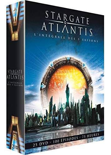 Stargate Atlantis - Intégrale des saisons 1 à 5 [Francia] [DVD]