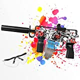 Gel Blaster Gun - ferventoys Electric Gel Ball Blaster with 10,000 Gel Balls for Outdoor Activities by Boys and Girls Ages 12+ (Red)
