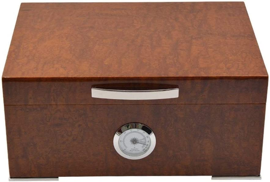 LIMEI-ZEN Cedar humidor Natural Ebony hu Roots Outlet OFFicial site ☆ Free Shipping Wood Veneer