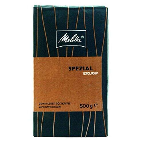 Melitta Spezial Exclusiv - 12 x 500g Kaffee gemahlen, vakuumverpackt