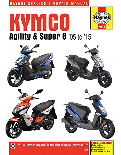 Mather, P: Kymco Agility & Super 8 Scooters (05 - 15) (Haynes Motorcycle)