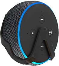 Vithconl Wall Mount Stand Holder for Echo Dot (3rd Generation) - Smart Speaker Stand Outlet Hanger Accessories