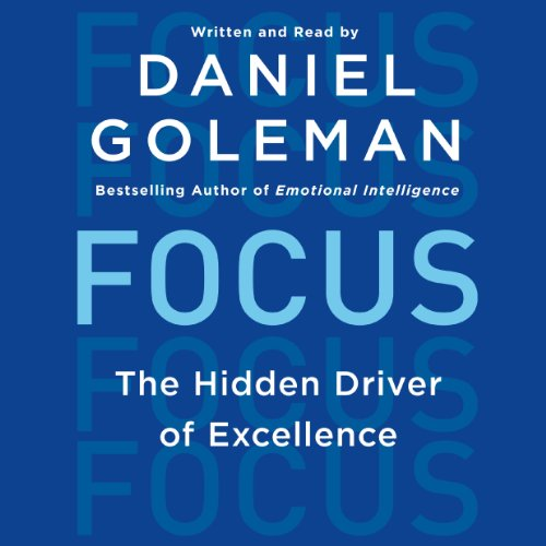Focus Audiobook By Daniel Goleman cover art