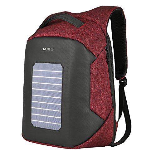 mochila con panel solar fabricante BAIBU