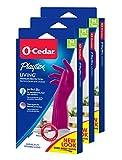 Playtex Living Reuseable Rubber Cleaning Gloves, Medium 1 Pair (Pack of 3)