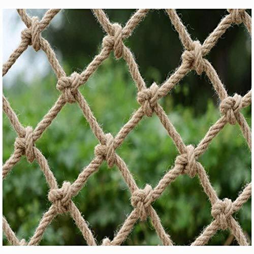 Enfant Filet De Protection Hemp Rope Nets Filet de Corde Chanvre, Filet de Sécurité Balcon Anti-chute Escaliers Enfants, Filet de Décoration Bar Restaurant, Filet de Séparation, Barrière Protection Li