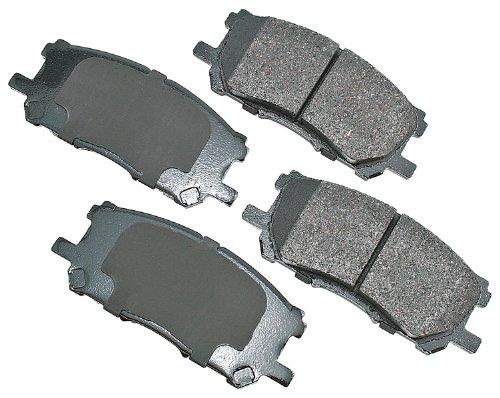 Akebono ACT1005 Brake Pad Kit |  AutoAnything.com