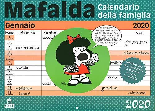 Mafalda. Calendario della famiglia 2020