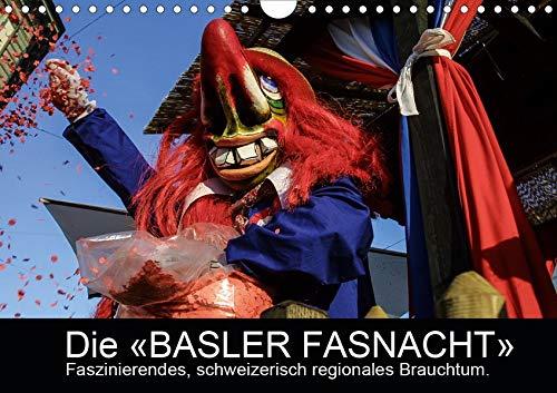 BASLER FASNACHT – Faszinierendes, schweizerisch regionales Brauchtum.CH-Version (Wandkalender 2020 DIN A4 quer): Impressionen von den «drey ... (Monatskalender, 14 Seiten ) (CALVENDO Kunst)