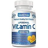 NASA Beahava Liposomal Vitamin C - 1200mg Supplement - 180 Capsules - High Absorption Vitamin C Ascorbic Acid Pills - Liposome Encapsulated - Supports Immune System - 90 Servings