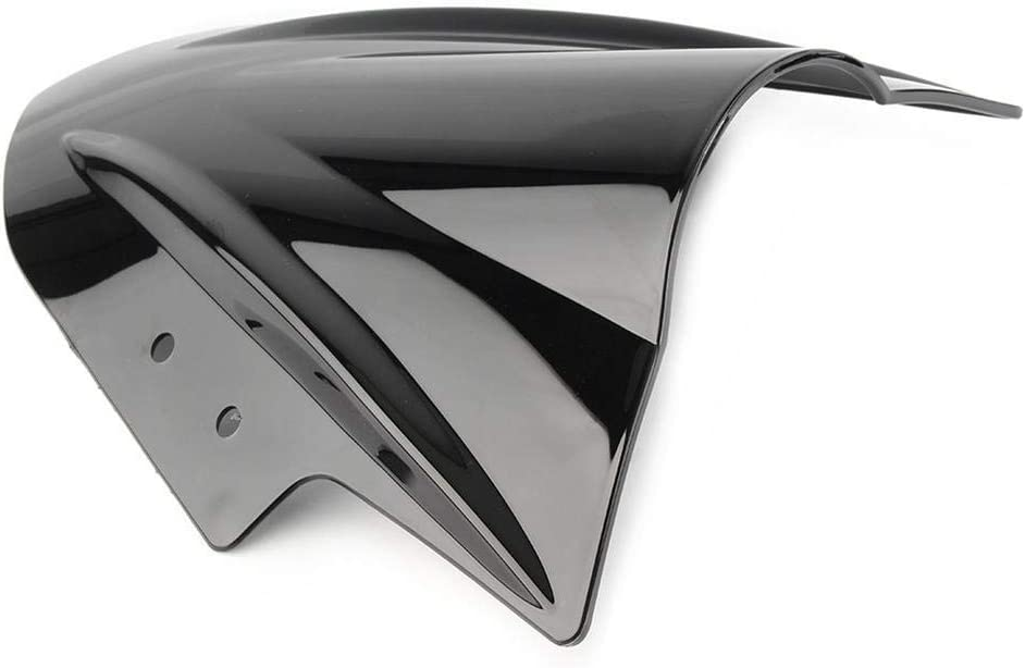 Newsmarts Motorcycle Windshield Windscreen Deflector Spoiler Shield Double Bubble Fit for Kawasaki EX300 ninja 300 250 2013-2017 Tan