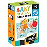Headu- Baby Flashcards Montessori Gioco Educativo,...