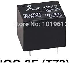 ElectronicNova 20pc/lot Small Electrical Relay 5Pins Miniature Power Relay SPDT Relay PCB Type JQC-3F (T73)