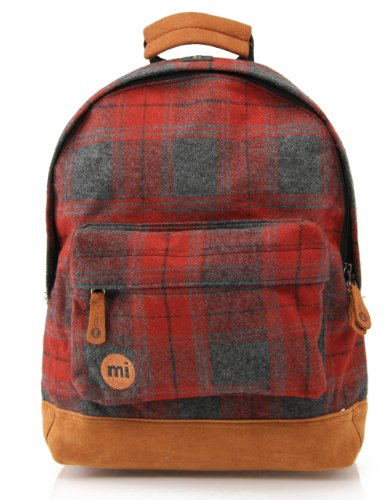 Mi-Pac Mini, Mochila Infantil, 33 cm, 10.5 litros, Red Plaid