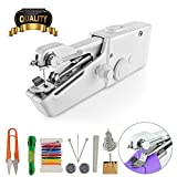 Handheld Sewing Machine, Handy Sitch CS101-B, Cordless Electric Sewing Machine, Portable Mini Small Sewing Machine Handy Lightweight for Fabric Clothing Kids/Pet Clothes(Battery Not Included)