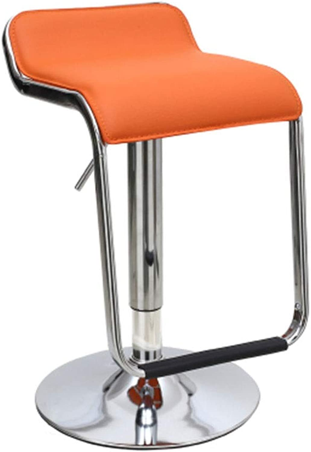 Bar Chair Simple High Stool Front Stool Lifting redate Creative 11 colors 1 Size (color   I)