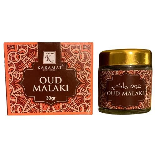 Incienso Oud Al Malaki Bakhour – 30 g – Perfume interior Bakhor en polvo para casa – Fabricado en Arabia Saudita KSA - Bakhoor
