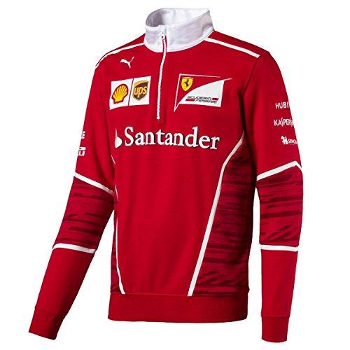 Scuderia Ferrari Half Zip Sweater, Vettel, Raikkonen, XL