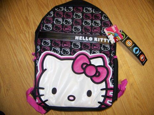 Hello Kitty Mochila con 2 compartimentos.