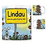 trendaffe - Lindau (Bodensee) - Einfach die geilste Stadt der Welt Kaffeebecher