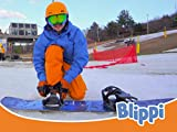 Blippi Visits Mountain Creek Resort and Learns How to Snowboard