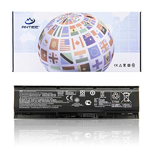 ANTIEE PA06 Laptop Akku für HP Omen 17-w000 17-ab000 17t-ab200 849571-221 849571-241 849571-251 849911-850 HQ-TRE HSTNN-DB7K PA06062 TPN-Q174 (11.1V 5663mAh/62Wh)