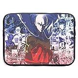 Anime Theme One Punch Man Saitama, Funda para Ordenador portátil, Funda para Ordenador de, maletín para Tableta,Protector ultraportá 13 Pulgadas