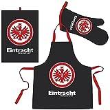 Bertels 1/051887 Eintracht Frankfurt Schürzen-Set Eintracht schwarz