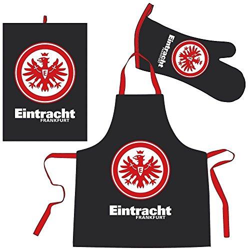 Eintracht Frankfurt Bertels 1/051887 Schürzen-Set Eintracht schwarz