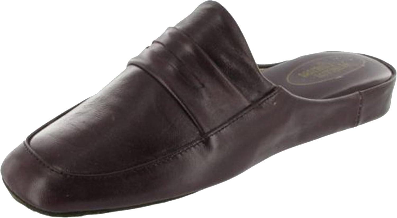 New Cincasa Menorca Aramis Mens Mule Slipper Leather Fabric Gents Slip-On Boots