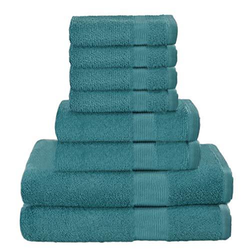 toalla turquesa de la marca Elvana Home