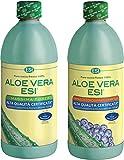 ESI Aloe Vera Succo [1+1] Mirtillo + Massima Forza 1000ml